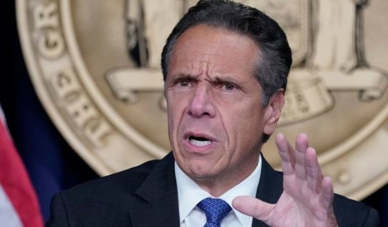 New York Gov. Andrew Cuomo speaks during a news conference on June 23 in New York.