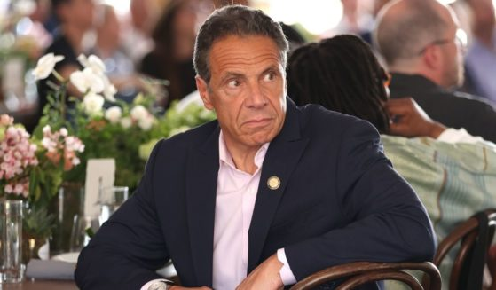Democratic New York Gov. Andrew Cuomo attends the Tribeca Festival Welcome Lunch during the 2021 Tribeca Festival at Pier 76 on June 9, 2021, in New York City.