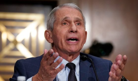 Dr. Anthony Fauci testifies before the Senate Health, Education, Labor, and Pensions Committee on Tuesday on Capitol Hill in Washington, D.C.