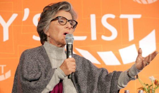 Former Sen. Barbara Boxer speaks onstage on Feb. 27, 2018, in Los Angeles.