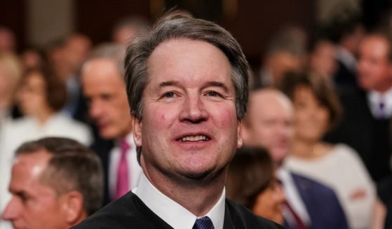 Supreme Court Justice Brett Kavanaugh attends the State of the Union address in the chamber of the U.S. House of Representatives at the U.S. Capitol Building on Feb. 5, 2019, in Washington, D.C.