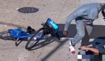 A 68-year-old man is brutally beaten during a mugging in Brooklyn, New York, on Saturday.