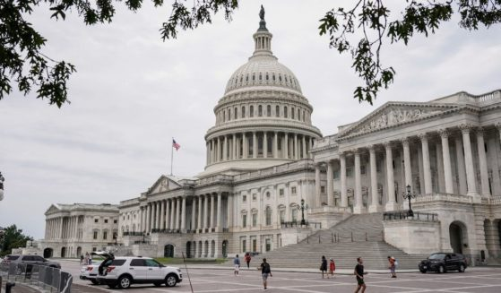 The U.S. Capitol is pictured on Saturday in Washington, D.C.