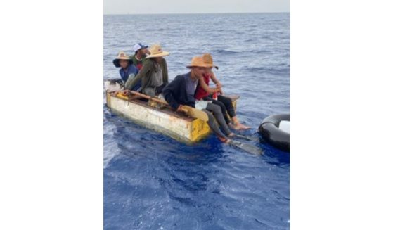 The Coast Guard caught 27 refugees fleeing Cuba's communist regime and sent them back to their native country on Tuesday.