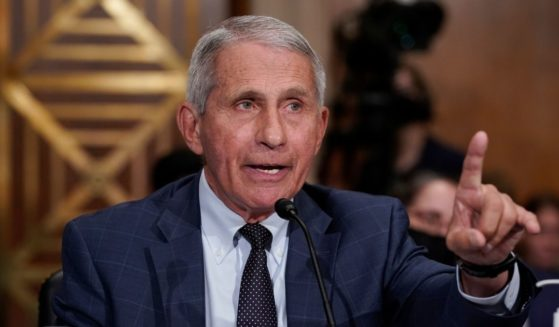 Dr. Anthony Fauci testifies before the Senate Health, Education, Labor, and Pensions Committee Tuesday on Capitol Hill in Washington, D.C.
