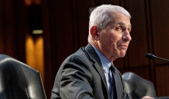 Dr. Anthony Fauci testifies during a Senate Health, Education, Labor and Pensions Committee hearing on Capitol Hill in Washington, D.C., on March 18, 2021.
