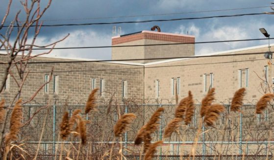 The federal Northern State Prison in Newark, New Jersey, is seen on Jan. 18.