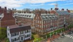 Buildings on the campus of Harvard University in Cambridge, Massachusetts, are pictured above.