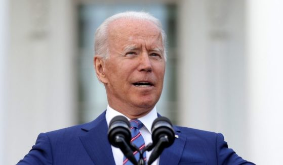 President Joe Biden speaks during an event to celebrate Independence Day at the South Lawn of the White House on July 4, 2021 in Washington, D.C.