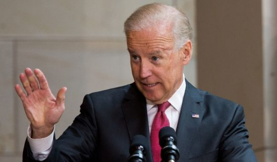 Then-Vice President Joe Biden speaks at Emancipation Hall in the Capitol Visitor Center in Washington on June 19, 2013.