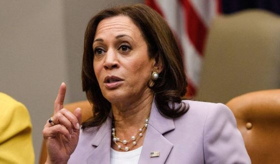 Vice President Kamala Harris speaks during a meeting with black female leaders at the White House in Washington, D.C., on Friday.