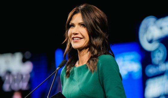 South Dakota Gov. Kristi Noem speaks during the Conservative Political Action Conference at the Hilton Anatole on July 11, 2021, in Dallas.