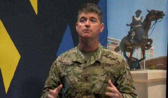 Army Maj. Gen. Patrick Donahoe.