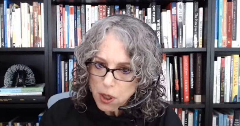 """""""White Fragility"""" author Robin DiAngelo appears on the Joseph Jaffe YouTube show."""