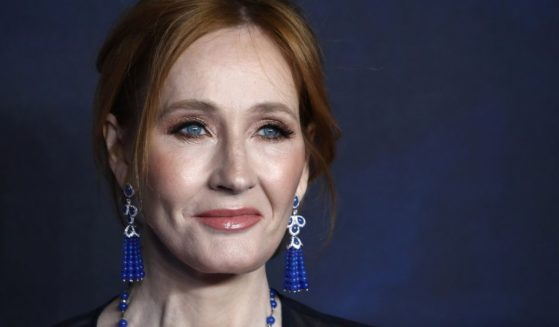 """J.K Rowling attends the U.K. Premiere of """"Fantastic Beasts: The Crimes of Grindelwald"""" at Cineworld Leicester Square in London on Nov. 13, 2018"""