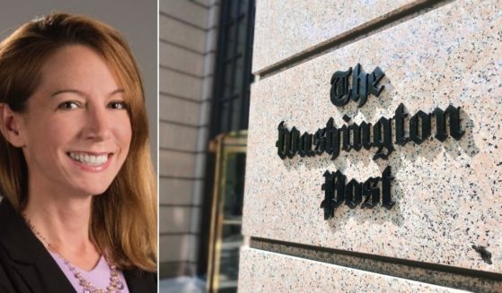 Reporter Felicia Sonmez, left, is suing her newspaper, The Washington Post, right.