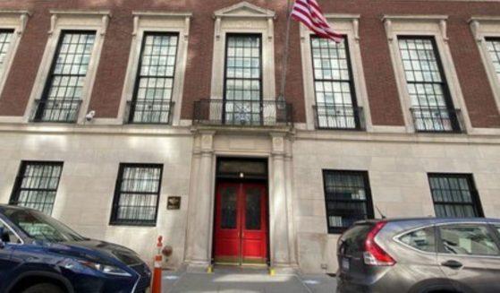 The pricey Spence School in Manhattan, New York.
