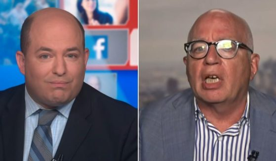 CNN host Brian Stelter is called out on his own show Sunday by his guest, anti-Trump author Michael Wolff.