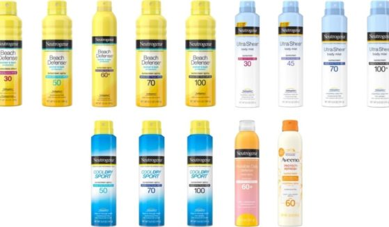 Johnson & Johnson announced Wednesday that is recalling all lots of five Neutrogena and Aveeno aerosol sunscreen product lines.