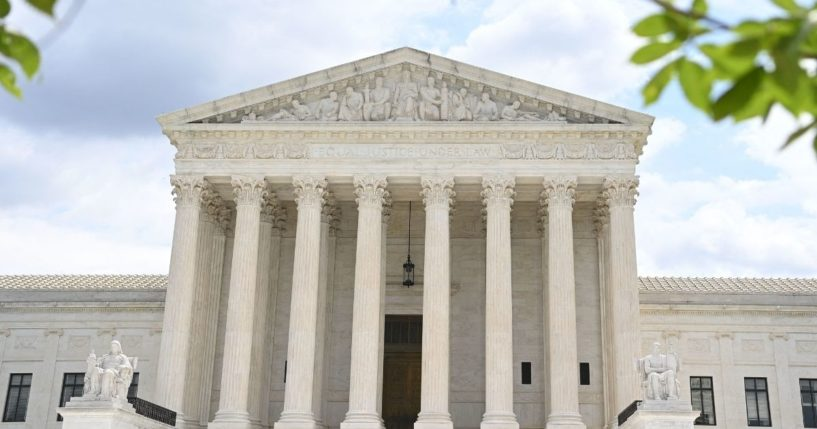 The U.S. Supreme Court is seen in Washington, D.C., on July 1, 2021.