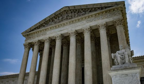 The U.S. Supreme Court is seen on a sunny day in Washington, D.C.
