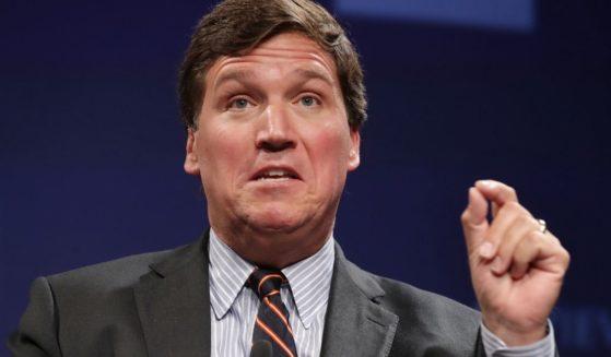 Fox News host Tucker Carlson speaks at the Mandarin Oriental Hotel on March 29, 2019, in Washington, D.C.