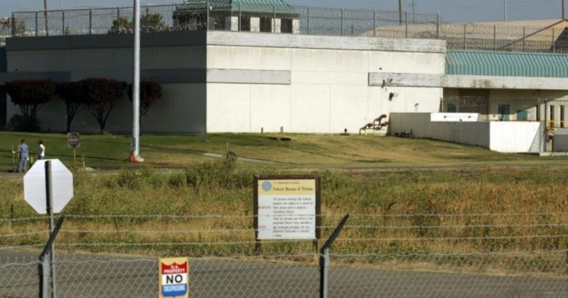 This photo taken on July 20, 2006, depicts the Federal Correctional Institution in Dublin, California.