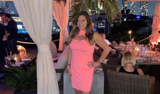 A photo taken on April 17, 2021, shows condo collapse victim Estelle Hedaya on The Deck at the Island Gardens in Miami.