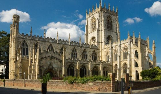 St. Mary's Church in Yorkshire, England.