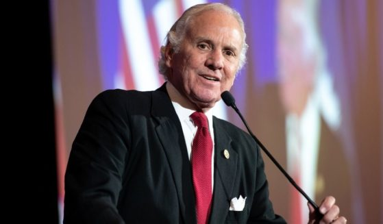 South Carolina Gov. Henry McMaster speaks during an election night party for Sen. Lindsey Graham, R-S.C., on Nov. 3, 2020 in Columbia, South Carolina. McMaster has been a vocal critic of President Joe Biden.