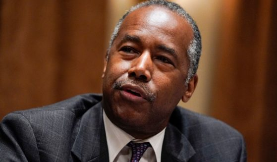 Dr. Ben Carson, pictured in a file photo from July 2020, when he was serving as House and Urban Development secretary.