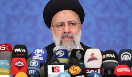 Iranian President-elect Ebrahim Raisi, pictured at a June 21 news conference.