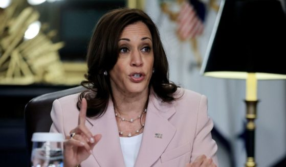 Vice President Kamala Harris, pictured in a July 14 photo in the Eisenhower Executive Office Building.