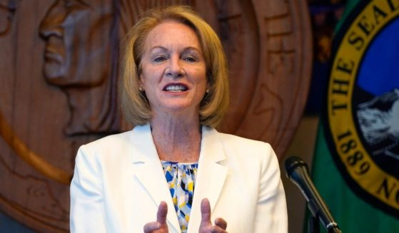 Seattle Mayor Jenny Durkan, pictured in a September file photo.