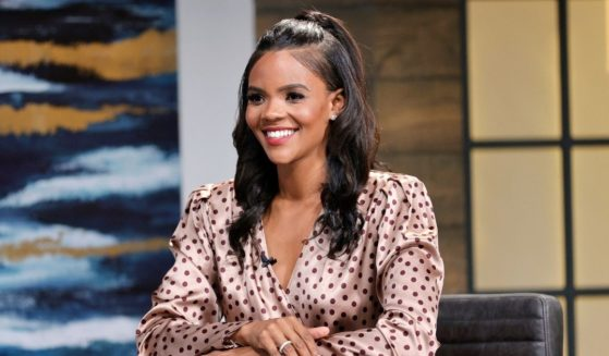 """Candace Owens is seen on the set of """"Candace"""" on May 17 in Nashville, Tennessee."""
