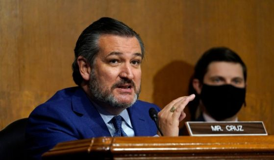 Sen. Ted Cruz speaks during a Senate Judiciary Committee hearing on Nov. 10, 2020, on Capitol Hill in Washington, D.C.