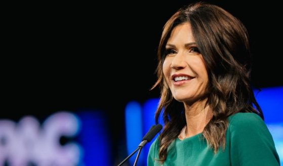 South Dakota Republican Gov. Kristi Noem speaks during the Conservative Political Action Conference held at the Hilton Anatole on July 11, in Dallas, Texas.