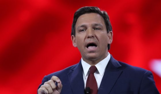 Florida Gov. Ron DeSantis speaks at the opening of the Conservative Political Action Conference at the Hyatt Regency on Feb. 26, 2021, in Orlando.