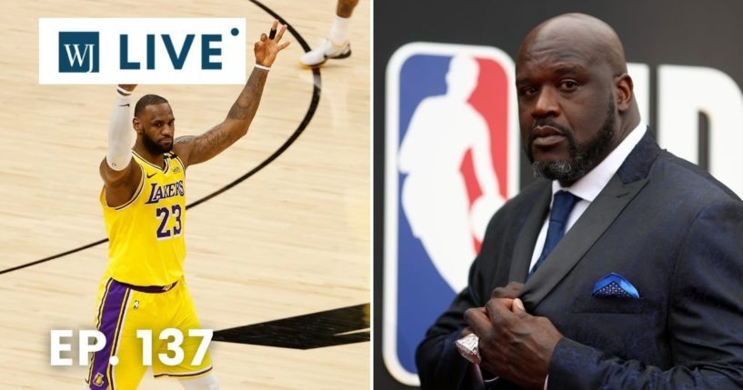 NBA legend Shaquille O'Neal offered sobering words to Los Angeles Lakers star LeBron James on Tuesday.