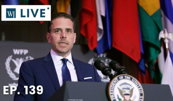 Hunter Biden speaks at a World Food Program USA event at the Organization of American States in Washington on April 12, 2016.