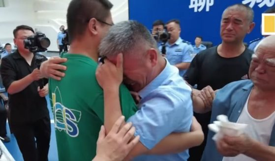 Guo Xinzhen is reunited with his family after being abducted 24 years ago.