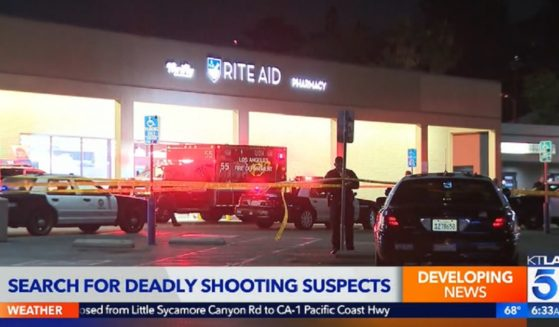 A Rite Aid in the Glassell Park neighborhood of Los Angeles where a shop lifting incident turned deadly on Thursday.