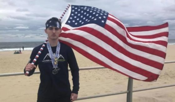Michael Ferrara is a high school student who earned around $12,000 to help homeless veterans.
