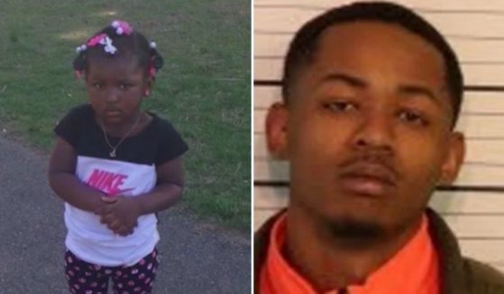 Tylan McCray, right, a 21-year-old man accused of murdering 2-year-old Laylah Washington, left, in a 2017 road rage shooting, was let out after a Tuesday bond hearing due to a clerical error.