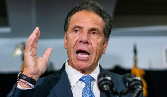 New York Gov. Andrew Cuomo, speaks during a news conference at Lenox Road Baptist Church in the Brooklyn borough of New York on July 14.