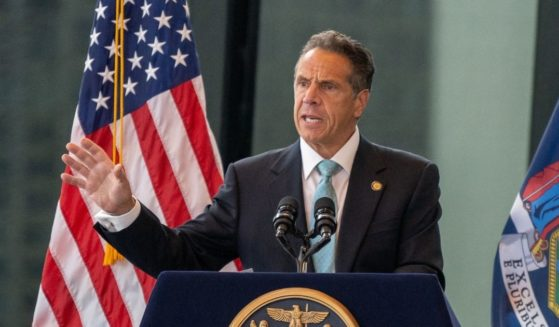New York Gov. Andrew Cuomo speaks during a news conference at One World Trade Center on June 15, 2021, in New York City.