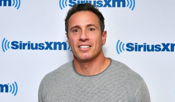 Chris Cuomo visits the SiriusXM studios on Sept. 26, 2018, in New York City.