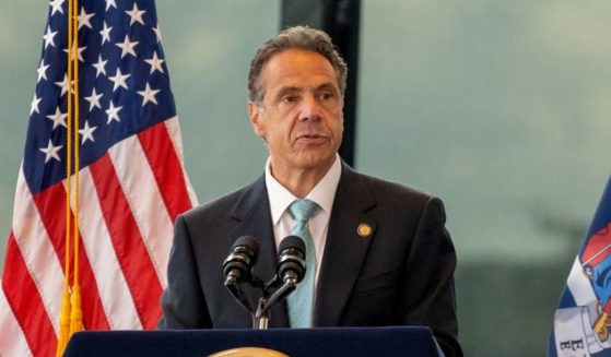 Democratic New York Gov. Andrew Cuomo speaks during a news conference on June 15, 2021 in New York City.