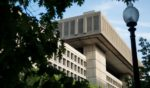 The J. Edgar Hoover Building is seen on May 3, 2013, in Washington, D.C.