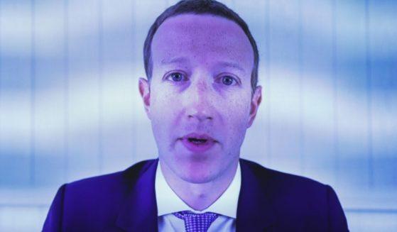 Facebook CEO Mark Zuckerberg testifies via video conference